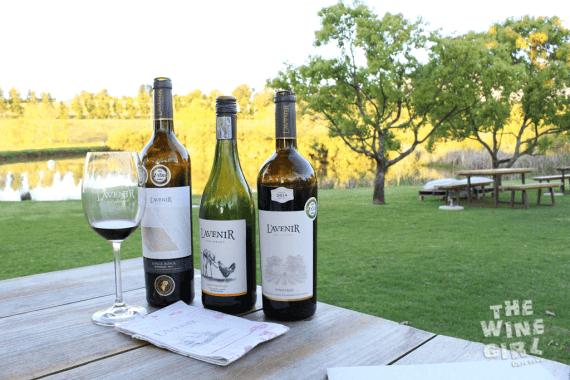 Lavenir Pinotage three bottles