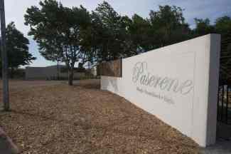 Paserene modern wine farm