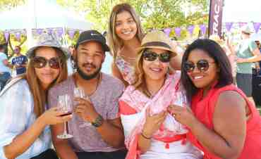 pinotage and biltong wine festival lifestyle