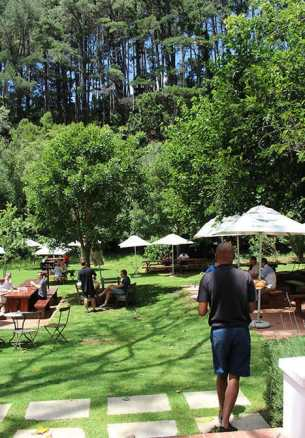 Eagles Nest wines garden