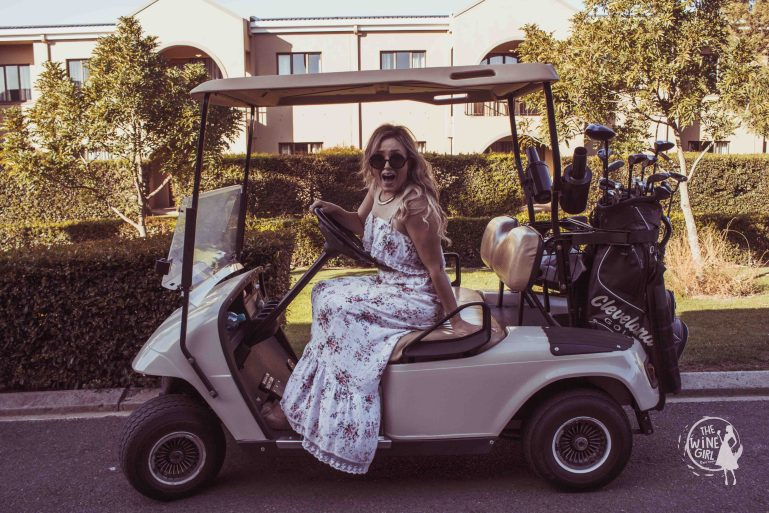 golf car devonvale woman golf