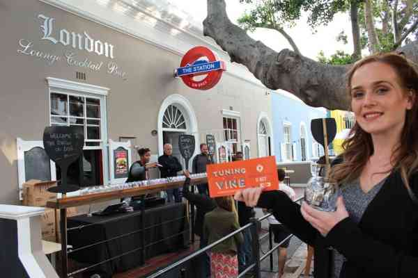 Tuning the Vine - the station on bree