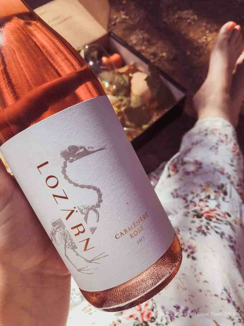 Lozarn Wines Rose the wine girl cape town