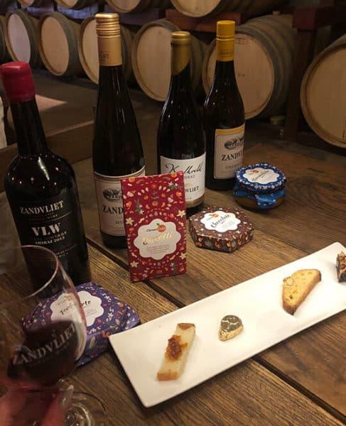 clemengold food and wine pairing zandvliet wines