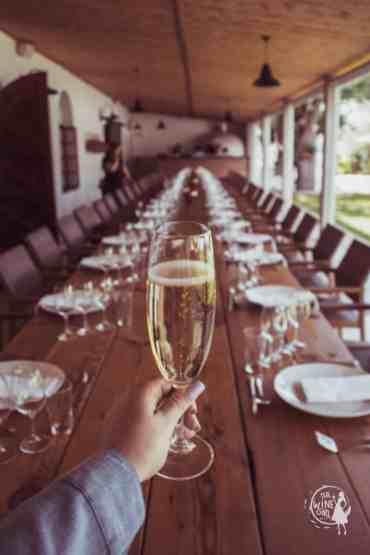 Bellevue wine estate table