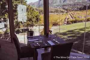Buitenverwachting Constantia restaurant