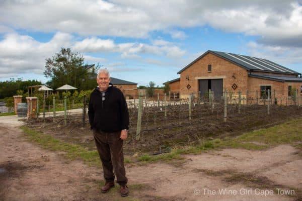Jon Tonkin, founder of Lodestone Wines.