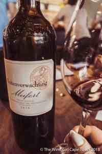 Buitenverwachting Constantia Meifort 2015 bordeaux style wine