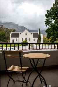 Le Petit Manoir Franschhoek Wine valley accommodation