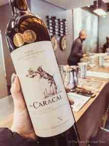 Neethlingshof wine tasting the caracal