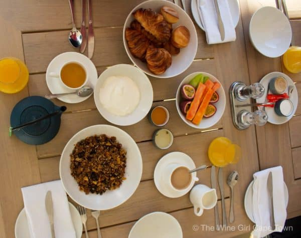 The Old Rectory Plettenberg Bay breakfast