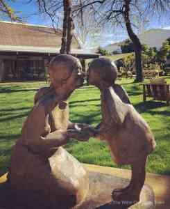 la motte garden sculpture walk