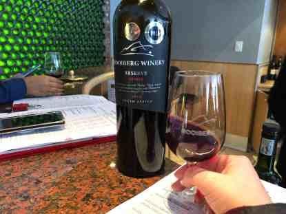 Rooiberg Wines Red Wine Tasting