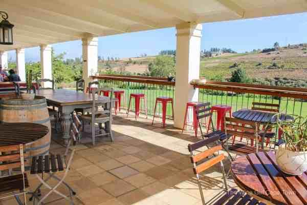 Imbuko Wines tasting area