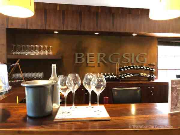 Bergsig Winery Breedekloof Wine Valley South Africa tasting room reception