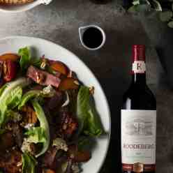 Food and Wine Pairing Recipe Roodeberg 2019 Classic Red Steak Salad