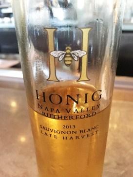 2013 Honig Late Harvest Sauvignon Blanc