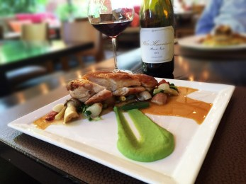 Harvest Table and Wm. Harrison Pinot Noir