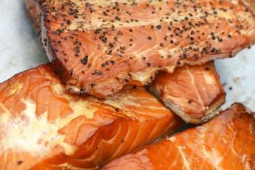 Santa Rosa Seafood homemade smoked salmon
