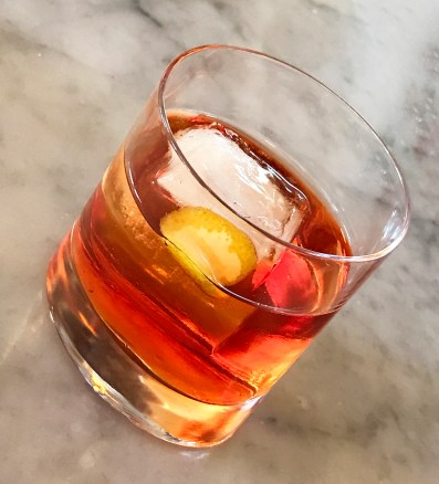 Frank's Negroni - Ciccio restaurant in Yountville