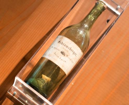 Old Schramsberger wine bottle made by Jacob Schram - Schramsberg Vineyards