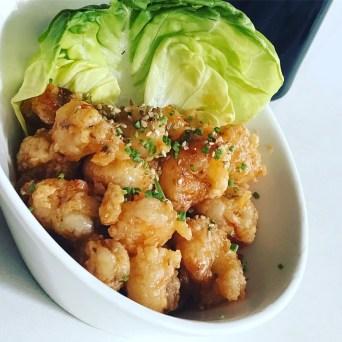 Chili Rock Shrimp - Japanese Tapas at Eiko's