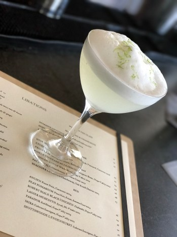 The Las Alcobas Margarita - a must try at the bar