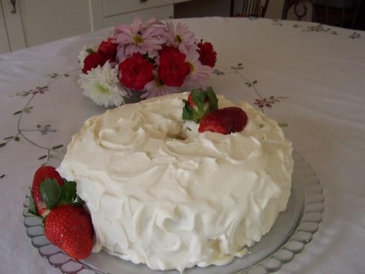 Classic Vanilla Cake with
