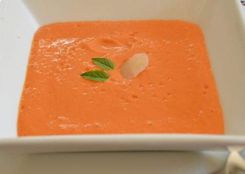 Roasted Garden Tomato Soup