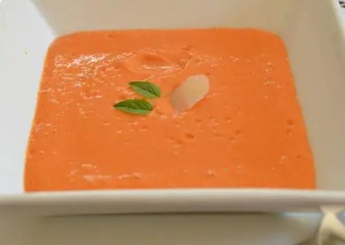 Roasted Garden Tomato Soup