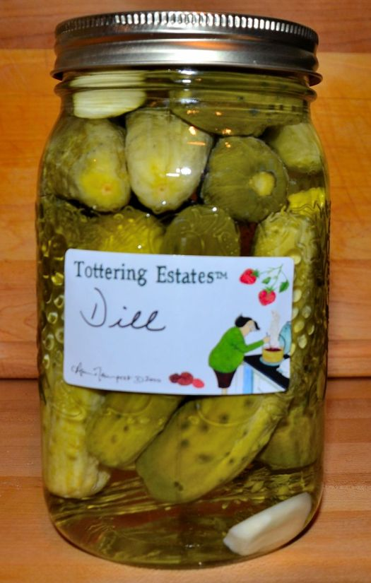 Easy Dill Pickles