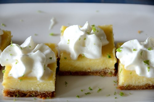 Tequila Lime Squares