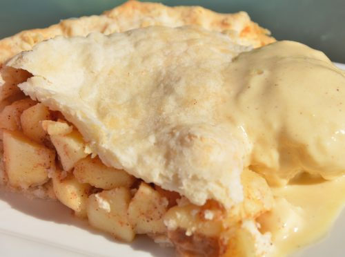 Apple Pie with Cider Ice Cream