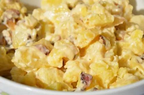 Warm Creamy Potato Salad