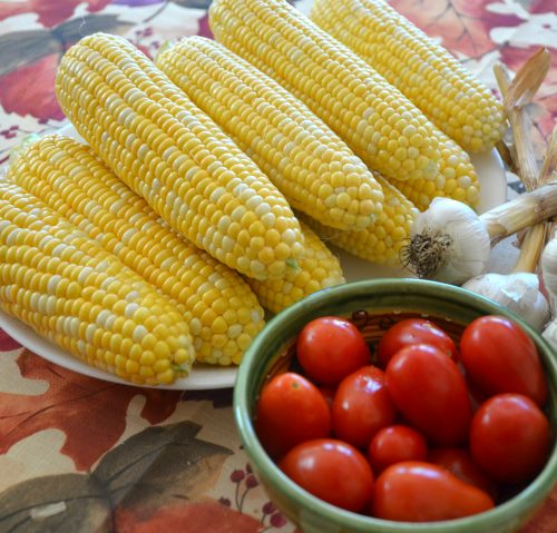 Preserving Corn on the Cob