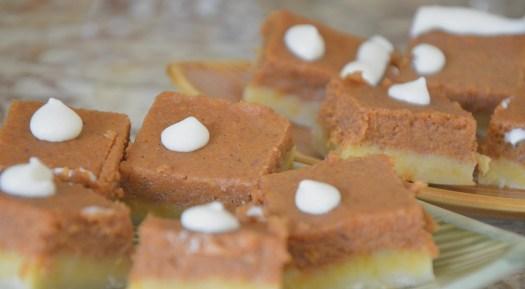 Pumpkin Cream Cheese Squares