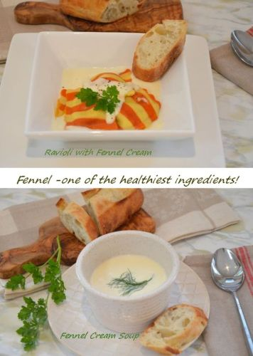Fennel Cream Three Ways