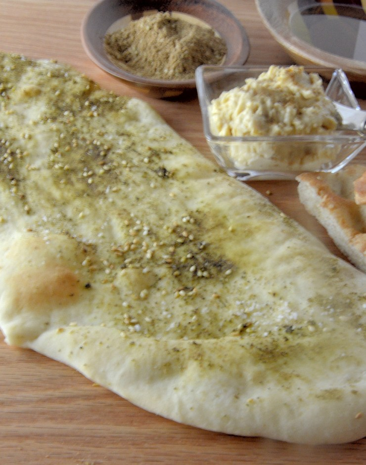 If you have an hour or so you can make this amazing, easy flatbread.