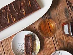 chocolate-whiskey-tart