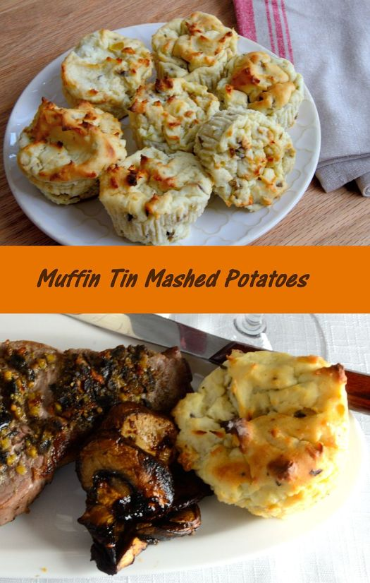 Make these tasty, easy mashed potato puffs in a muffin tin!
