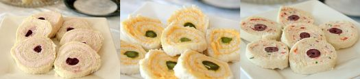 Rolled Tea Sandwiches