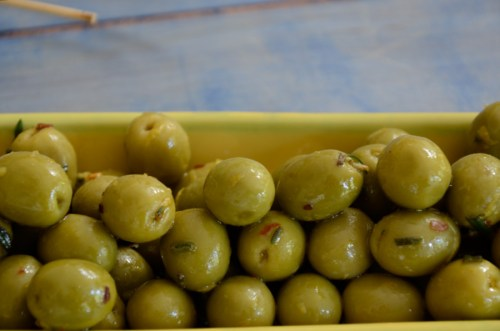 marinated-olives