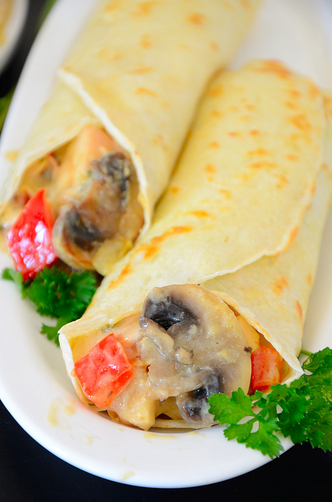 These easy Chicken Crepes elevate your leftover chicken to new heights! Crepes were the 'original' wraps well before Asian cuisine became familiar to us.