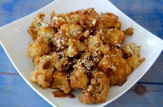 Spicy Chinese Cauliflower