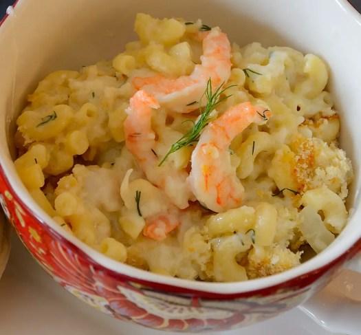 Seafood Mac 'N Cheese