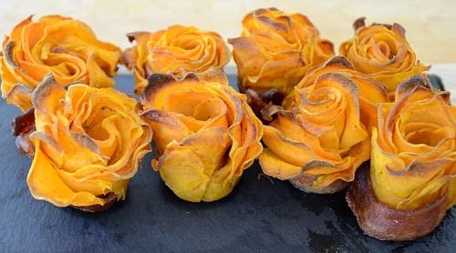 Sweet Potato Roses