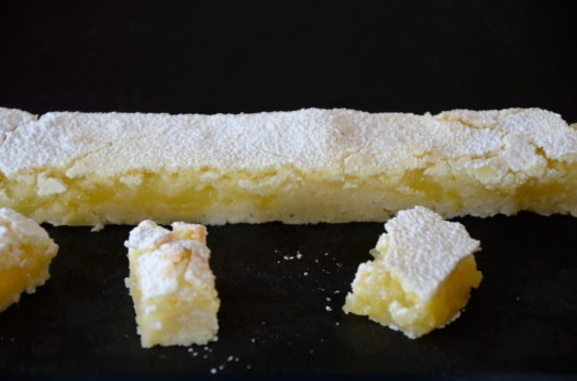 So Simple Lemon Squares