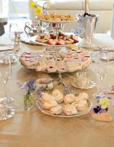 Royal Weddintg Tea Table