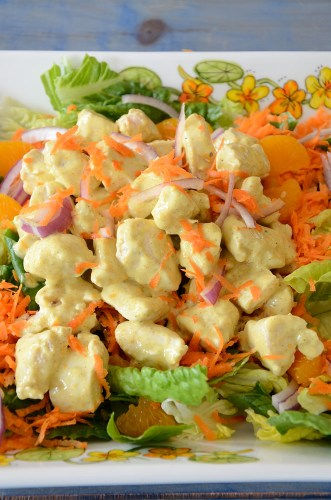 Curried Chicken Salad with Pickled Ginger
