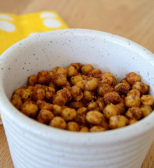 BBQ Roasted Chickpeas